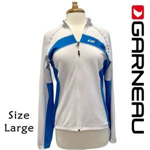 Garneau Women's Size L Full Zip Cycling Jacket NWT